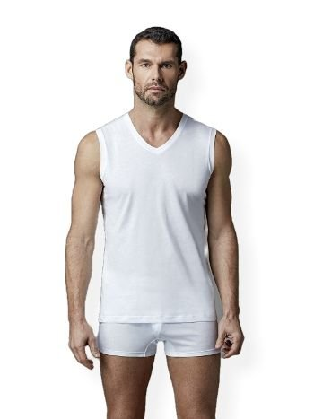 Koton V Yaka Kolsuz T-Shirt Dagi D1560