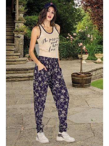Lady Geniş Askılı Şalvarlı Bayan Pijama Takım 10007