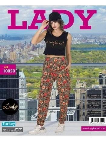 Lady Maybe Not Bayan Şalvarlı Pijama Takım 10050
