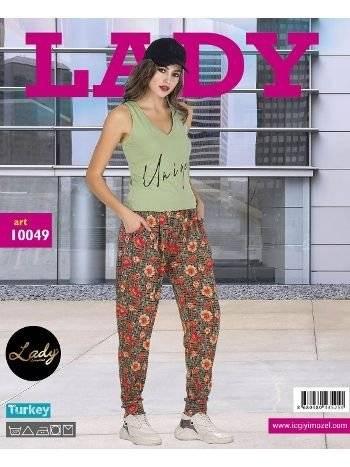Lady Unique Askılı Bayan Şalvar Pijama Takım 10049