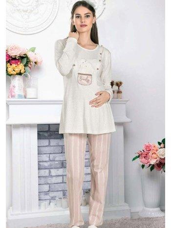 Lovely Lohusa Hamile Pijama Takımı FLZ 24-341