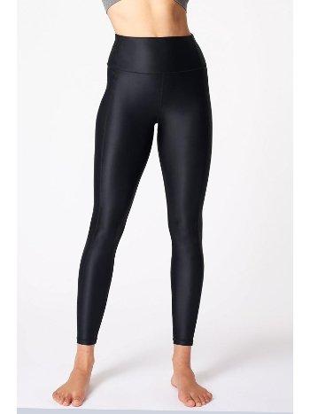 Marka Sportwear Tina Yüksek Bel Dalgıç Kumaş Tayt Tina02
