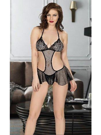 Kısa Etekli Erotik Gecelik Miss Dore 4005