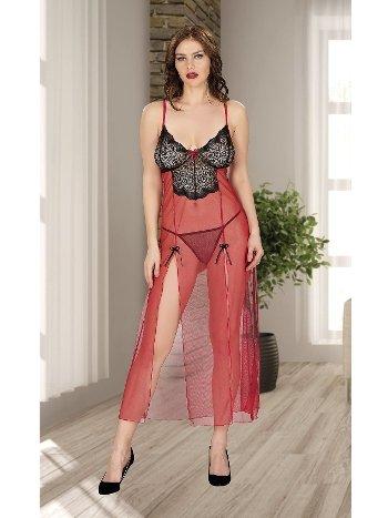 Erotik Seksi Uzun Gecelik Miss Dore 4216