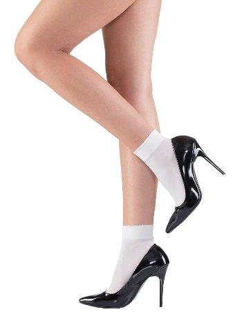 Mite Love Beyaz Soket Çorap ML-9420