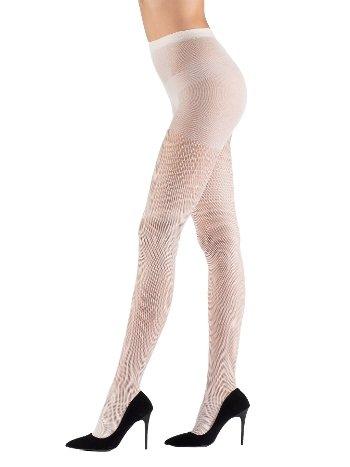 Mite Love File Külotlu Çorap 15 Denye Beyaz ML-9479