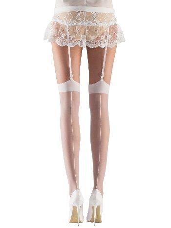 Mite Love Gelin Jartiyer Çorabı Beyaz ML-9487