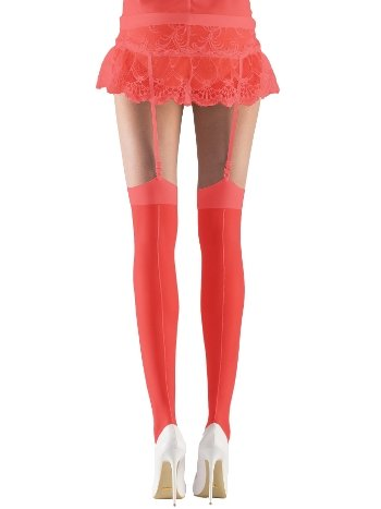 Mite Love Gelin Jartiyer Çorabı Kırmızı ML-9486