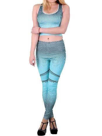 Mite Love Kadın Fitness Turkuaz Takım ML-6025
