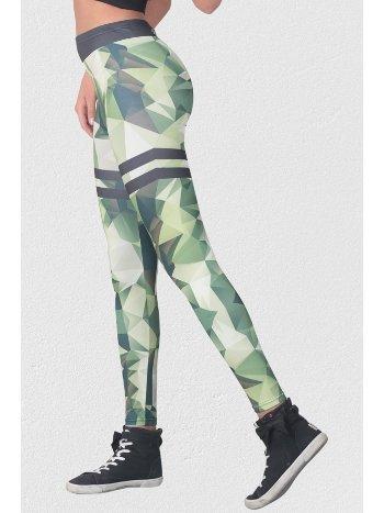 Mite Love Kadın Sporcu Yeşil Tayt ML-6004