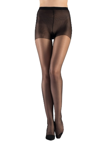 Mite Love Külotlu Çorap 15 Denye Parlak Siyah ML-9716