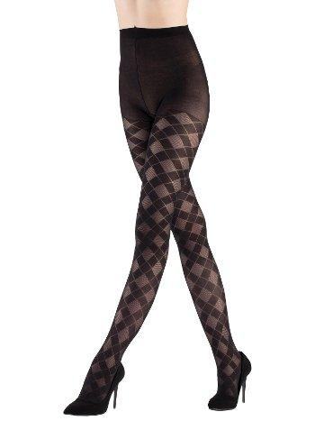 Mite Love Külotlu Çorap Ekose 40 Denye ML-9489
