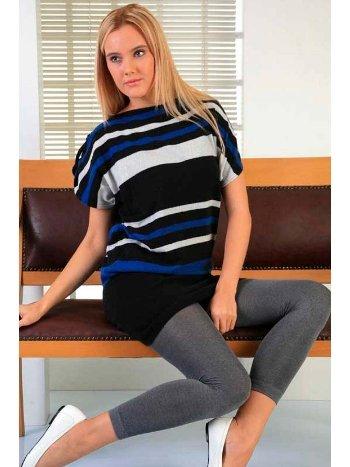 Mite Love Külotlu Termal Tayt Kadın Giyim Gri ML-1933