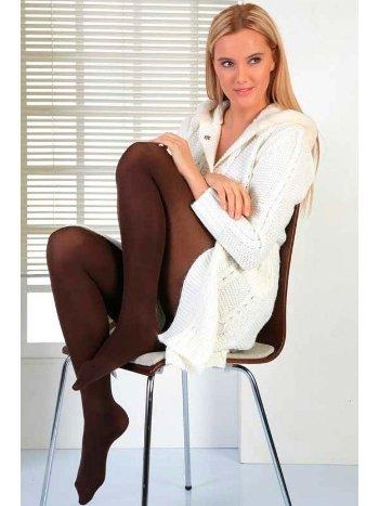 Mite Love Termal Külotlu Çorap Kahverengi ML-1931