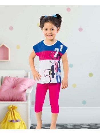 Öztaş 4330-A Kız Çocuk Parçalı Taytlı Takım