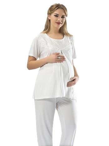 Penye Hamile Pijama Sistina 1606