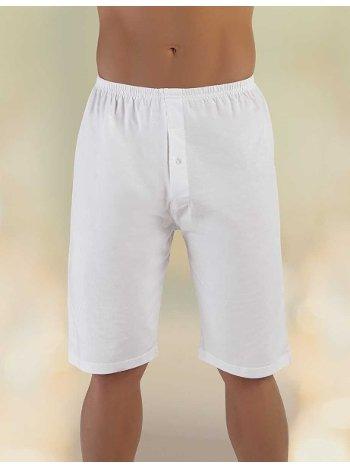 Penye Süprem Paçalı Boxer Beyaz ME018 Şahinler