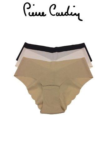 Pierre Cardin 2830 Kadın Hipster Lazer Kesim 3lü Paket Külot