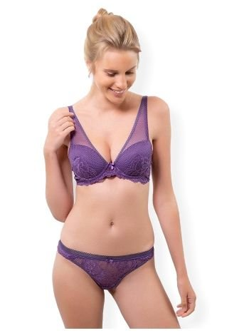 Pierre Cardin 4587 Violetta Destekli Sütyen Takım