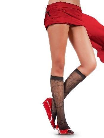 Pierre Cardin Desenli Dizaltı Çorap Lotye