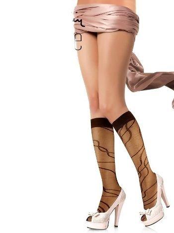 Pierre Cardin Desenli Dizaltı Çorap Penelope