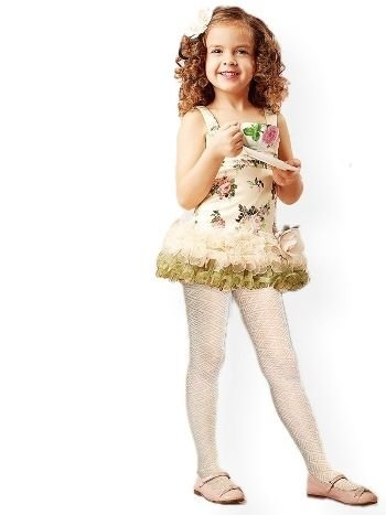 Pierre Cardin Sarita Külotlu Çocuk Çorabı Micro 40 Desenli
