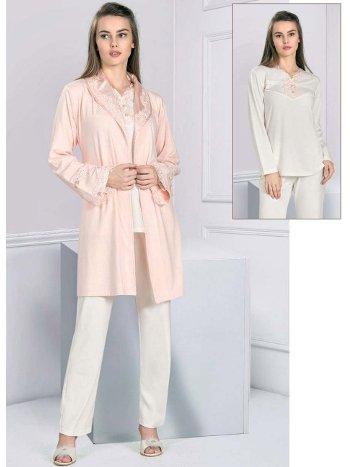 Pijama Sabahlık Takım Kışlık FLZ 31-345