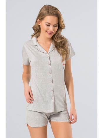 Pijama Şort Takım Türen 3272/GRİ