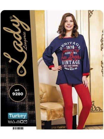 Pijama Takım Lady 9280