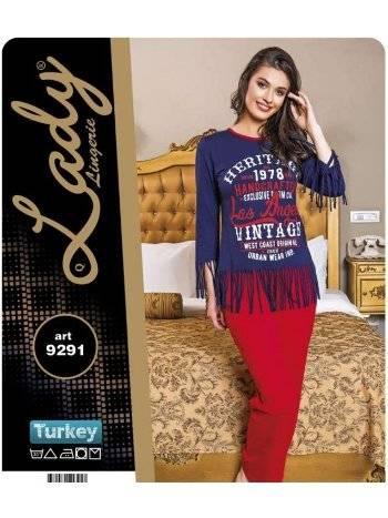 Pijama Takım Lady 9291