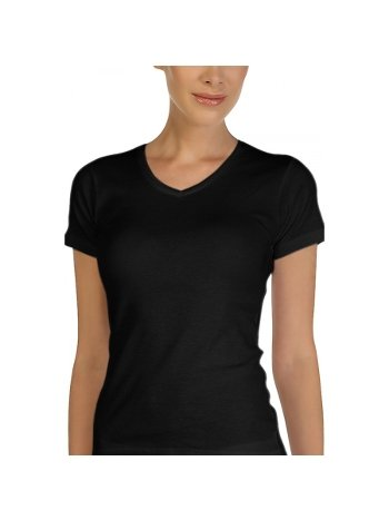 Çift Kaplan Ribana V Yaka T-Shirt 754