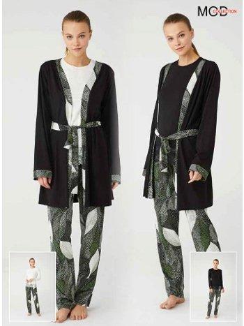 Sabahlıklı Pijama Takımı Mod Collection 3400