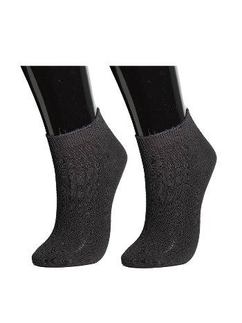 Socks Turka Üst Kısmı Lacoste File Modelli Patik Çorap