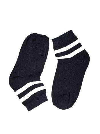 Socksturka Çizgili Konç Bayan Soket Çorap