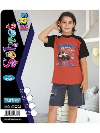 Şortlu Takım Erkek Çocuk Lady 2425
