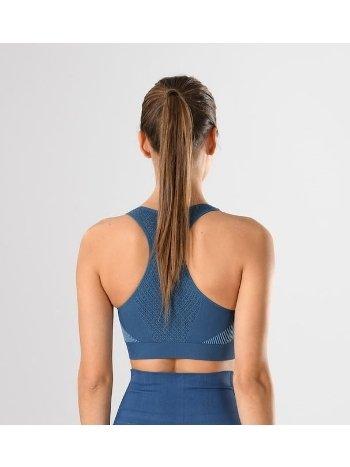 Spor Büstiyer Örme Seamless Dikişsiz Yoga Fitnes Plates Miss Fit 11178