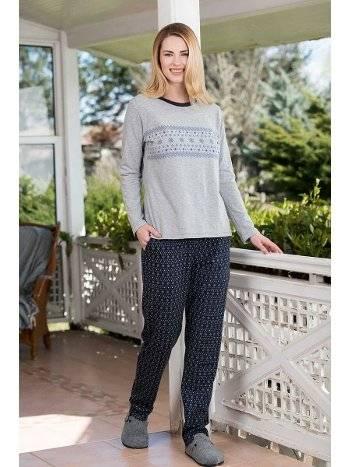 Süprem 2'li Viskon Pijama Takımı Yeni İnci BPJ1662
