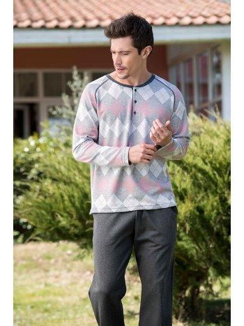 Süprem İnterlok Erkek Pijama Takımı Yeni İnci EPJ758