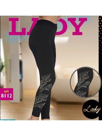 Taş İşlemeli Tayt Lady 8112