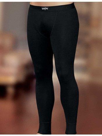 Termal Erkek Uzun İçlik Siyah ME092 Şahinler