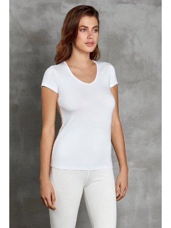 Termal Kadın V Yaka Tişört Doreanse 8580
