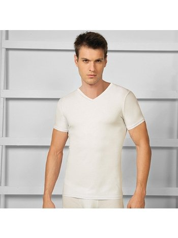 Termal V Yaka T-Shirt Atlet Goldenbay 2552