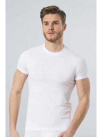 Türen Erkek Likralı T-Shirt 164/BEYAZ