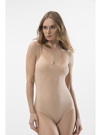 Türen Kadın İp Askılı Agraflı Body 284/TEN