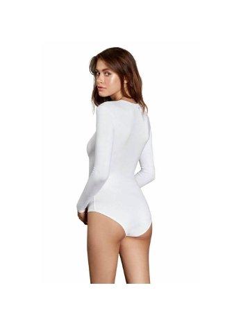 Uzun Kollu Termal Kadın BodySuit Doreanse 12475