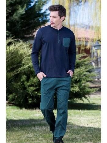 Viskon Süprem Erkek Pijama Takımı Yeni İnci EPJ748
