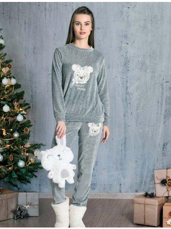Welsoft Kışlık 2li Pijama Takımı Dowry 09-866
