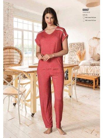 Yaz Pijama Loungewear NBB 66667