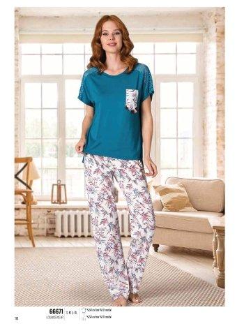Yaz Pijama Loungewear NBB 66671