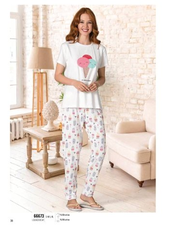 Yaz Pijama Loungewear NBB 66673